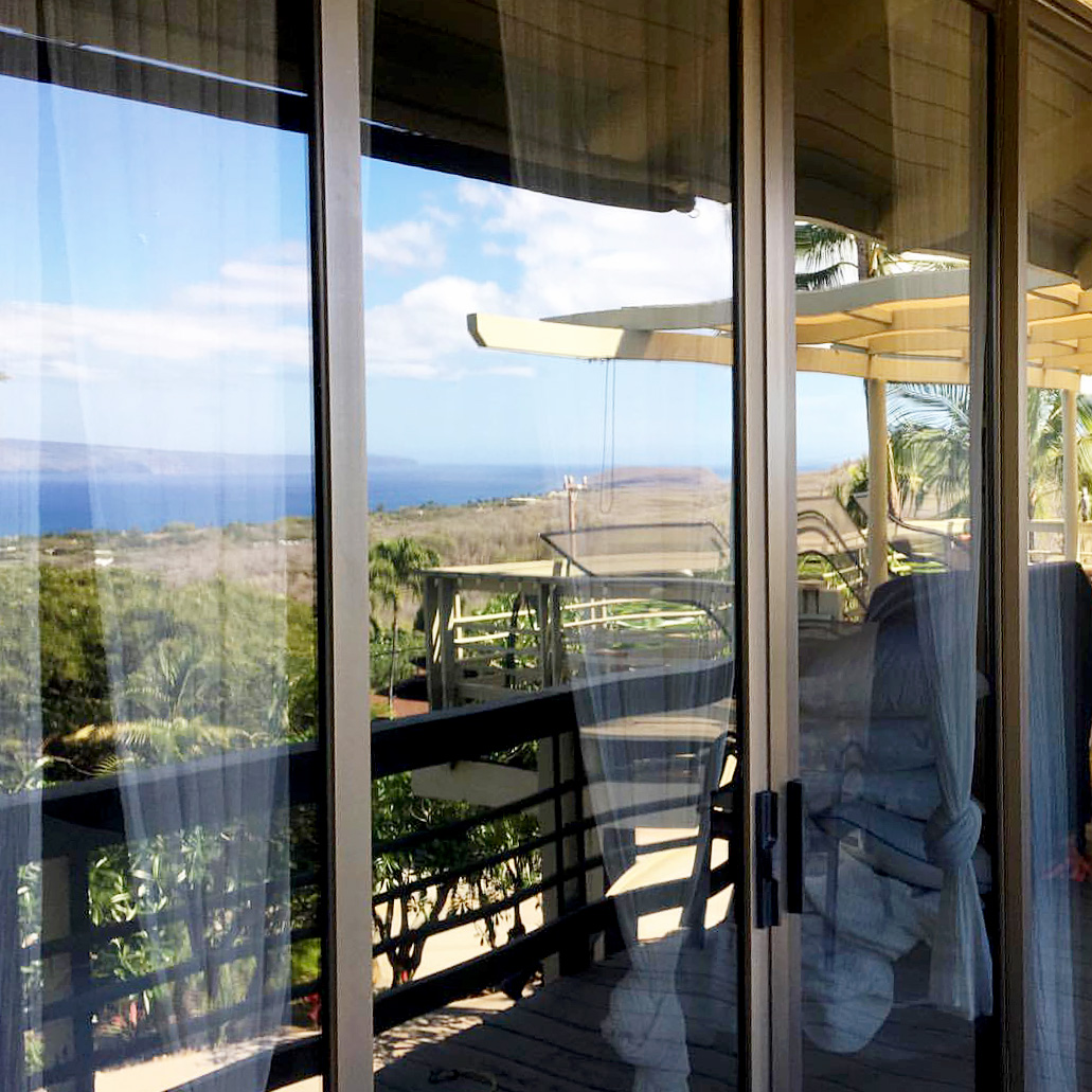 Window cleaning services on Maui from Verum Cleaning Co.